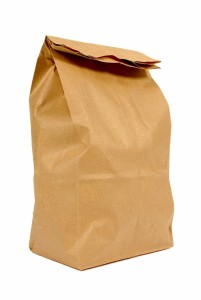 two ply paper bag